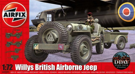 Willys British Airborne Jeep
