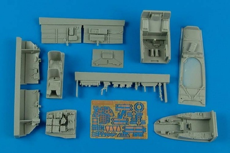 Me 410B-2/U4 Cockpit Set (1:48 Meng) 033/4585