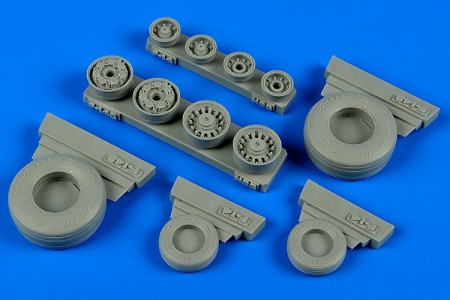 F-14B/D Tomcat - Weighted Wheels (1:48 Hobby Boss) 038/148012