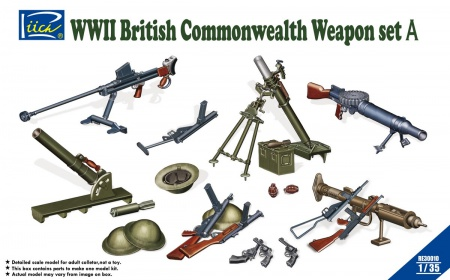 WWII British Commonwealth Weapon Set A 070/RE30010