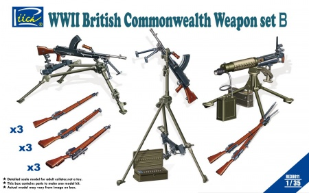 WWII British Commonwealth Weapon Set B 070/RE30011