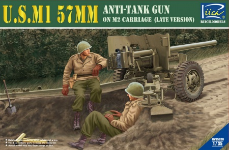 U.S. M1 57mm Anti-tank Gun on M2 carriage (Late Version) 070/RV35020