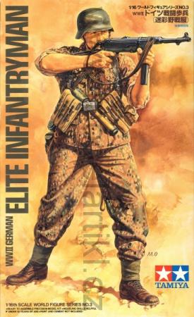 WWII German Elite Infantryman