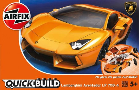 Lamborghini Aventador QUICK BUILD 006/J6007