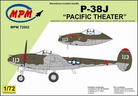 P-38J Pacific Theater (Limited Edition) 090/MPM72002