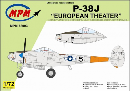 P-38J European Theater (Limited Edition) 090/MPM72003