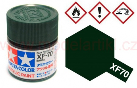 XF-70 Dark Green 2 10ml 001/81770
