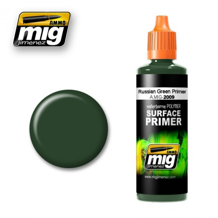 Russian Green Primer 60ml 085/A.MIG-2009