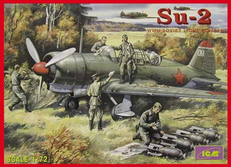 Su-2 WWII Soviet Light Bomber 057/72081