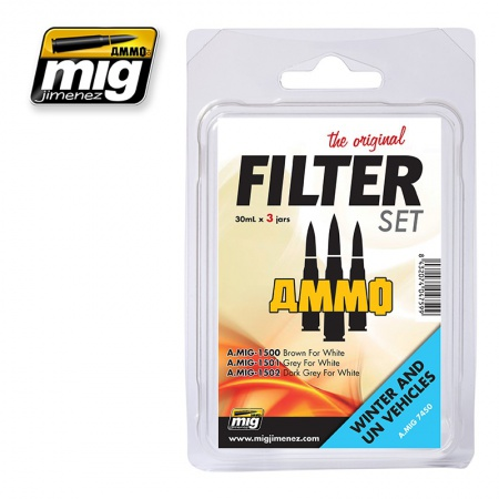 Filter For Winter and UN Vehicles Set 3x30ml 085/A.MIG-7450