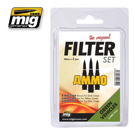 Filter For Green Vehicles Set 3x30ml 085/A.MIG-7452