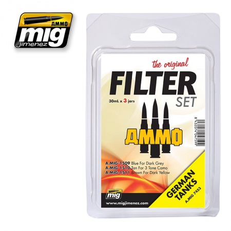 Filter For German Tanks Set 3x30ml 085/A.MIG-7453