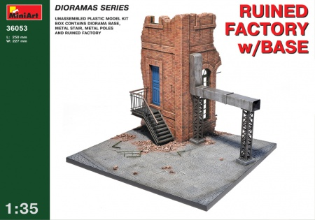 Ruined Factory w/ Base 089/36053