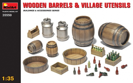 Wooden Barrels & Villlage Utensils 089/35550