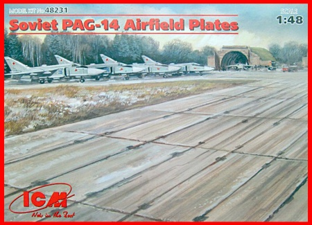 Soviet PAG-14 Airfield Plates 057/48231