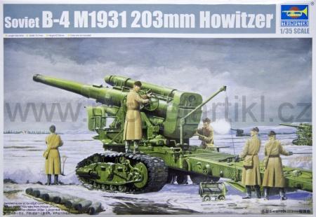 Soviet B-4 M1931 203mm Howitzer