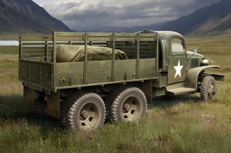 GMC CCKW-352 Wood Cargo Truck