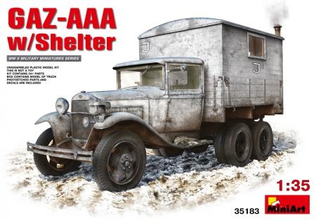 GAZ-AAA  w/Shelter