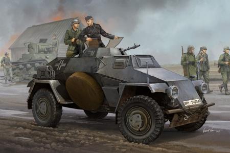 Sd.Kfz.221 Leichter Panzerspahwagen (3st series)