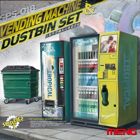 Vending Machine & Dustbin Set 061/SPS-018