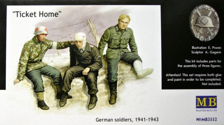 Ticket Home German Soldiers (1941-1943) 096/MB3552