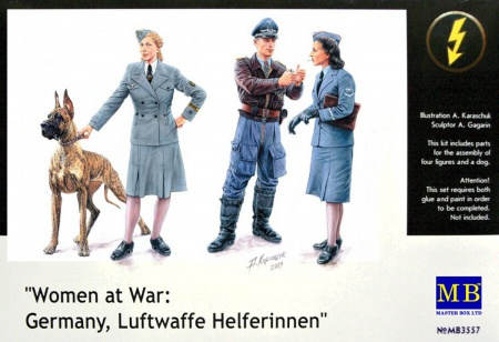 Women at War: Germany, Luftwaffe Helferinnen 096/MB3557