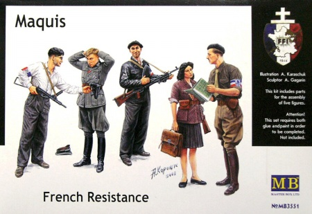 Maquis, French Resistance 096/MB3551