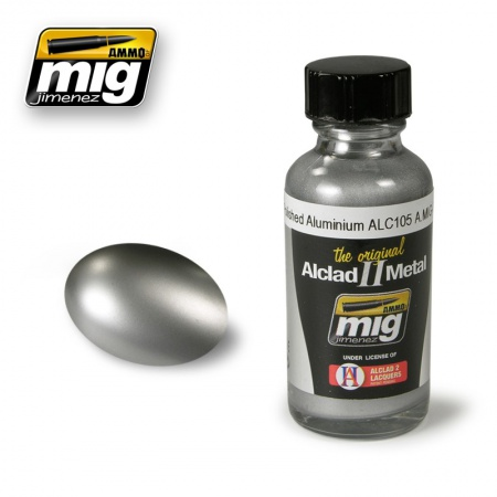 Alclad Polished Aluminium ALC105 30ml 085/A.MIG-8204