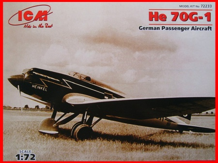 He 70G-1 German Passenger Aircraft 057/72233