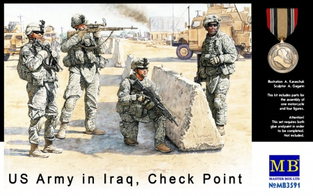 US Check Point in Iraq 096/MB3591