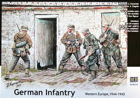 German Infantry. Western Europe. 1944-1945 096/MB3584
