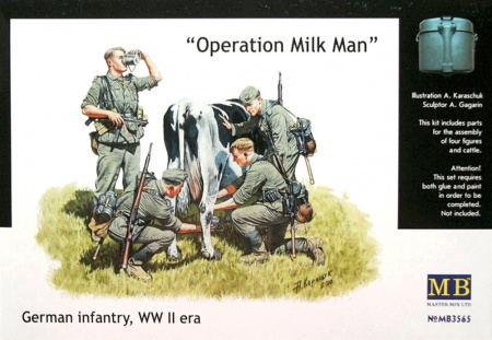 Operation Milkman, German Infantry, WW II era 096/MB3565