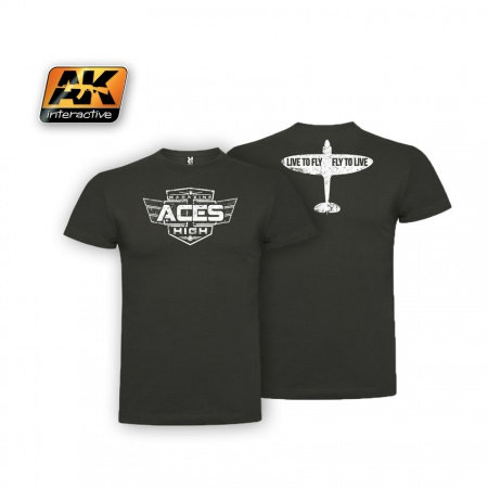 Aces High Magazine official T-shirt vel.M 036/AK056