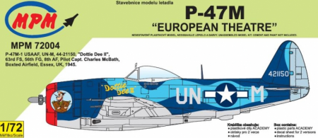 P-47M European Theater (Limited Edition) 090/MPM72004