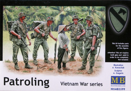 Patroling. Vietnam War series 096/MB3599