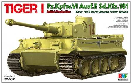 Tiger I Initial Production Early 1943 (North African Front / Tunisia) 099/RM-5001