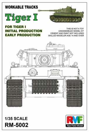 Workable tracks for Tiger I (Early production) 099/RM-5002