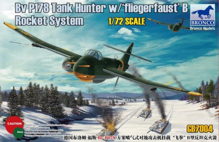 BV P178 Tank Hunter w/Fliegerfaust B Rocket System 062/GB7004