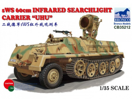 sWS 60cm Infrared Searchlight Carrier UHU 062/CB35212