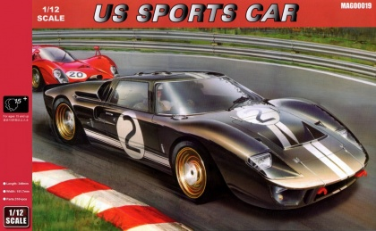 Ford GT40 MKII 1966 Le Mans (reedice)