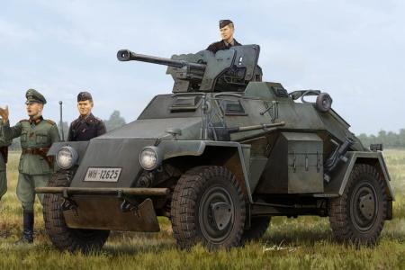 Le.Pz.Sp.Wg Sd.Kfz.221 Leichter Panzerspahwagen Late