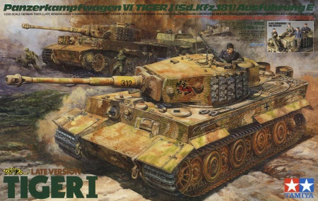 Pz.kpfw.VI Ausf.E Tiger I Late Version w/Ace Commander (Limited Reedition) 001/25401