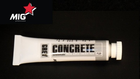 P509 Concrete Paste Grey 20ml 032/P509