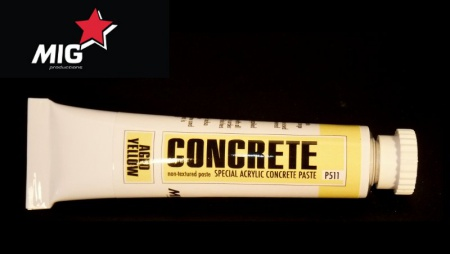 P511 Concrete Paste Aged Yellowy 20ml 032/P511
