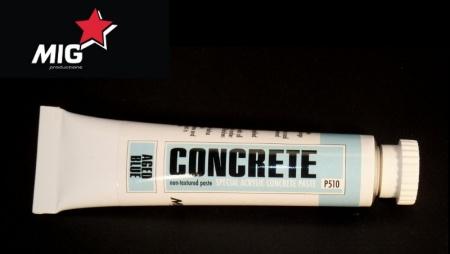 P510 Concrete Paste Aged Blue 20ml