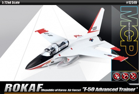 ROK Air Force T-50 Advanced Trainer (Multi Color Parts) 002/12519