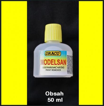 Modelsan - 50ml (odstraňovač nátěrů)