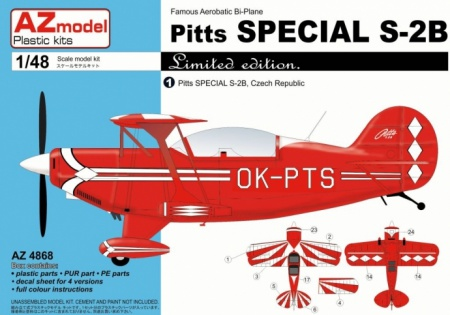 Pitts Special S-2B CZ/USA/GB/DE (Limited Edition) 052/AZ4868