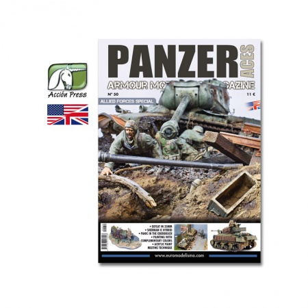 Panzer Aces Nº50 Allied Forces Special 085/PANZ-0050