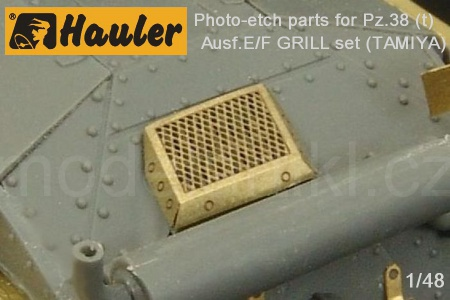 Pz.38 (t) Ausf.E/F GRILL set for Tamiya 039/HLX48365